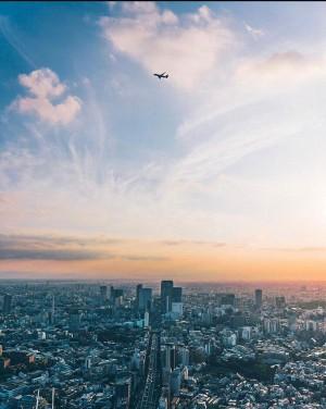 Blick vom Mori Tower auf Shibuya (Tokio)