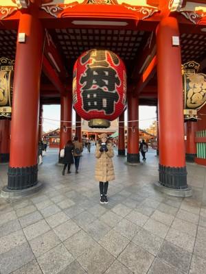 Donner-Tor des Asakusa Tempel