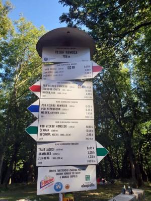 Wanderwege in den Kleinen Karpaten