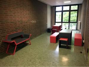Lernnische im 1. Obergeschoss zwischen R151 und R152