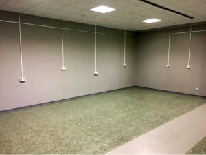 Teil 2 der MSS-Lernlandschaft im 1. Obergeschoss: Möblierung ist für den Sommer 2021 geplant