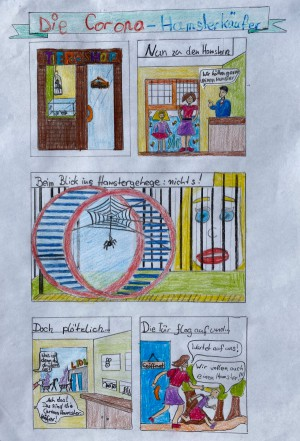 Die Corona-Hamsterkäufer (Nea Mangold)