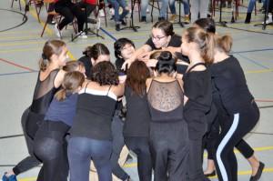 Die Tanz-AG zeigt ihr Können